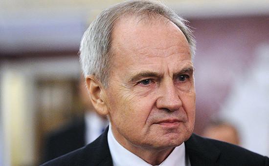 Председатель Конституционного суда Валерий Зорькин