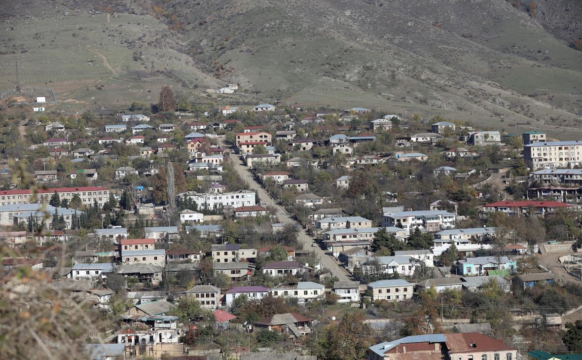 Вид на город Гадрут