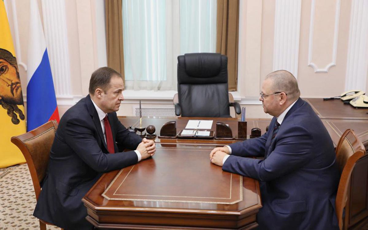 Игорь Комаров и Олег Мельниченко