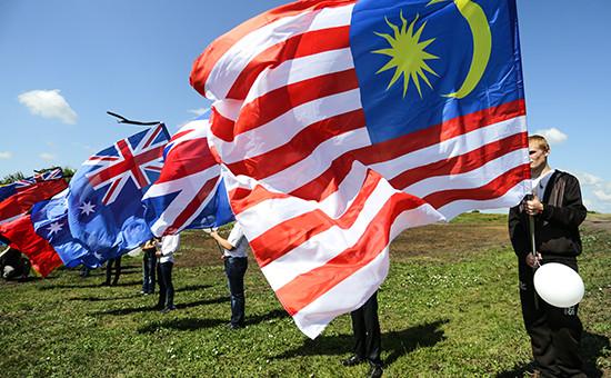 Во время траурных мероприятий на месте крушения малайзийского Boeing у села Грабово
