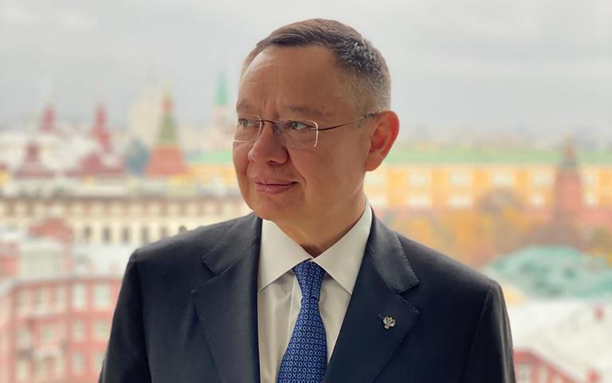 Замминистра строительства и ЖКХ РФ Ирек Файзуллин