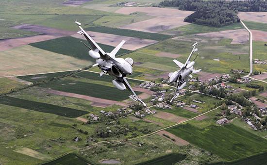 Истребители F-16 ВВС НАТО