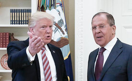 Дональд Трамп иСергей Лавров