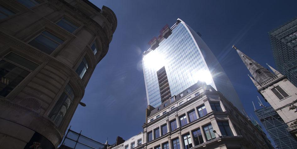 Башня Walkie-Talkie в Лондоне