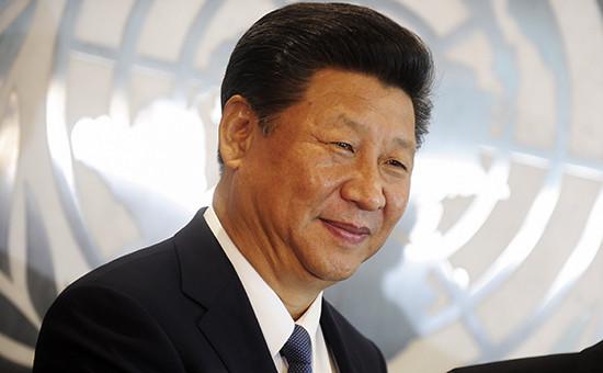 Председатель КНР Си Цзиньпин на 70-й Генассамблее ООН в Нью-Йорке (архивное фото)