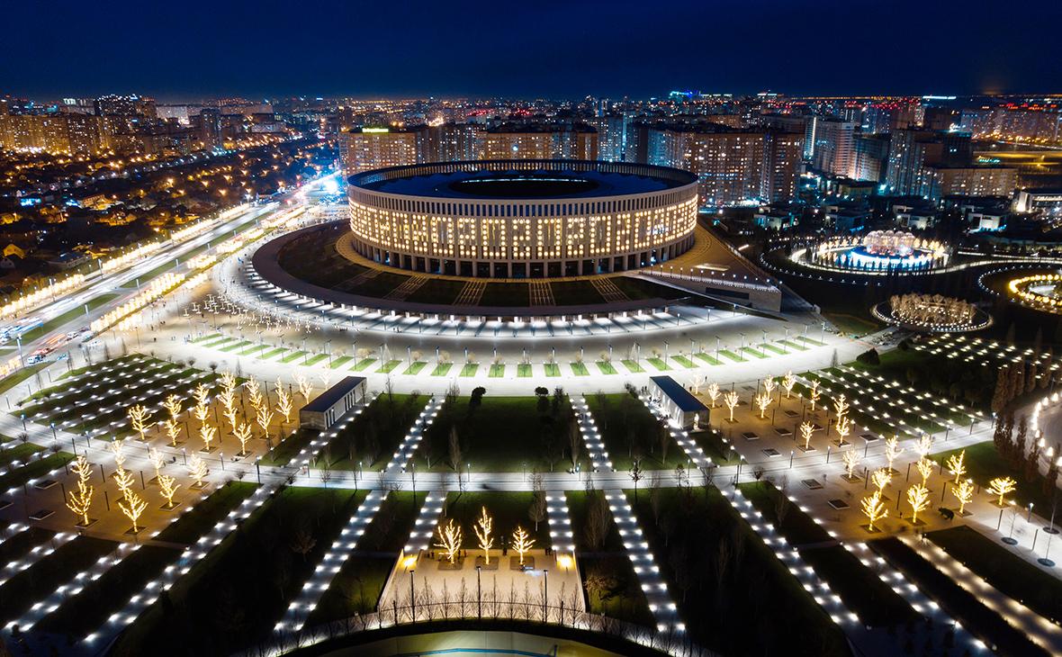 Вид на Краснодар