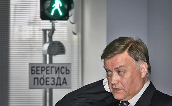 Президент РЖД Владимир Якунин