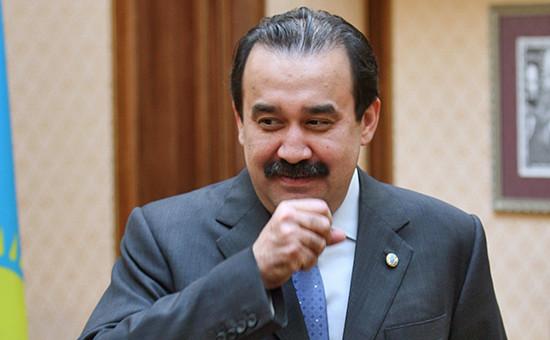 Освобожденный отдолжности премьер-министр Казахстана Карим Масимов