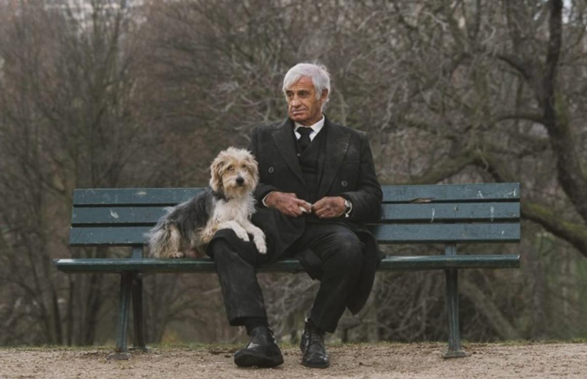 Кадр из фильма«Человек и его собака»