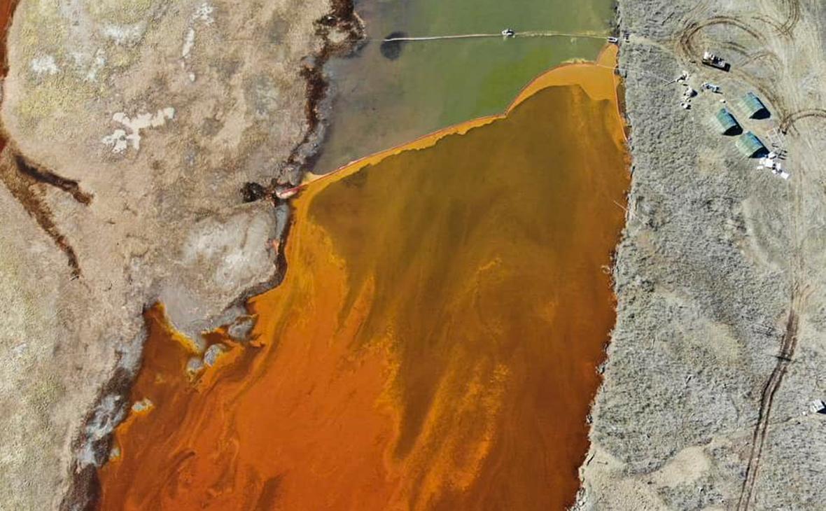 Последствия разлива топлива на ТЭЦ-3