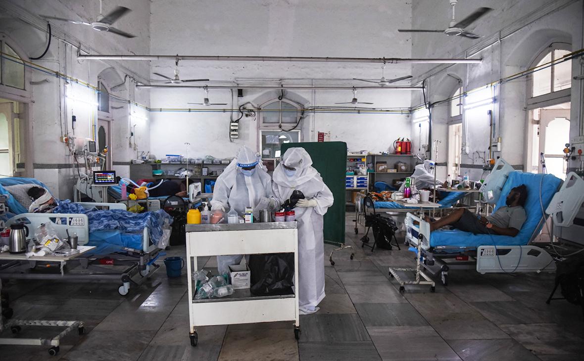 В Индии выявили минимум заразившихся коронавирусом за 45 дней