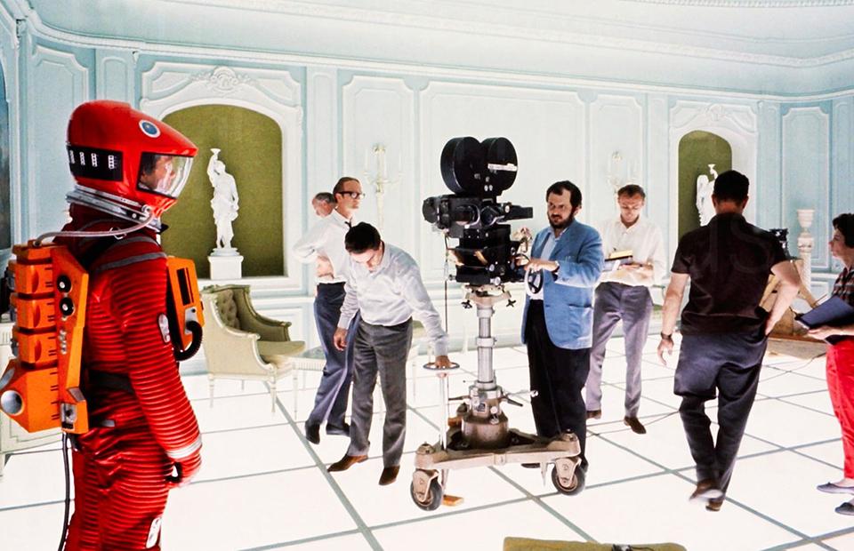 Бекстейдж со съемок фильма«2001 год: Космическая одиссея»