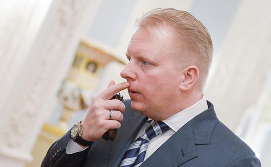 Руководитель Российского авторского общества (РАО) Сергей Федотов