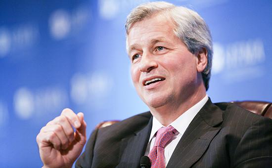 Исполнительный директор банка JP Morgan Chase Джейми Даймон
