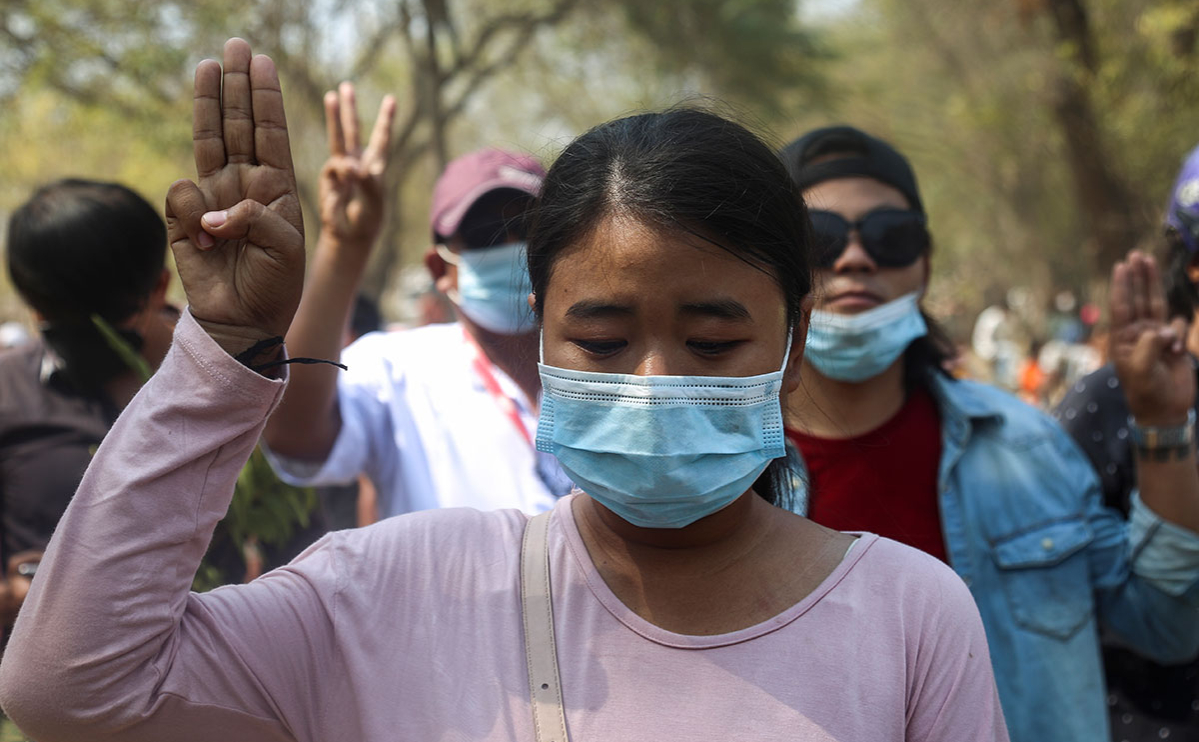 Фото: Kaung Zaw Hein / EPA / ТАСС