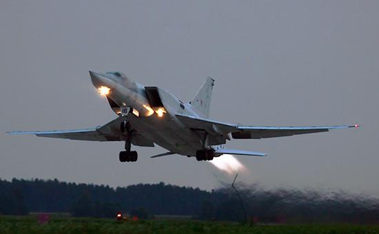 Самолет Ту-22М3, август 2007 года
