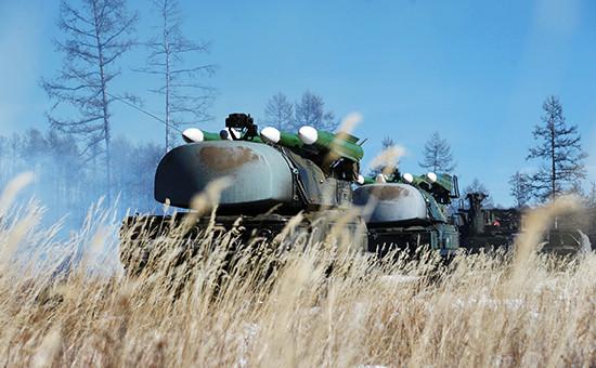 Зенитно-ракетные комплексы «Бук». Март 2014 года