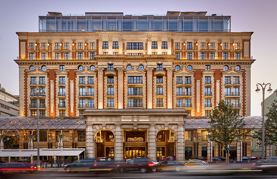Отель The Ritz-Carlton, Moscow на ул. Тверская, 3