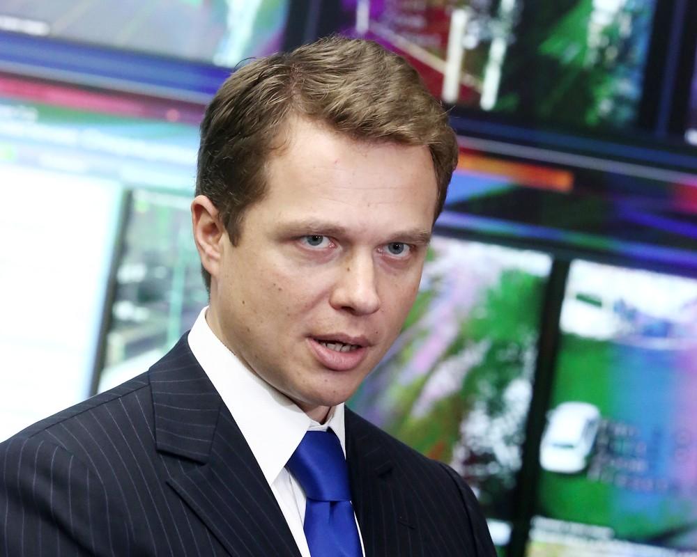 Заместитель мэра Москвы по вопросам транспорта и развития дорожно-транспортной инфраструктуры Максим Ликсутов