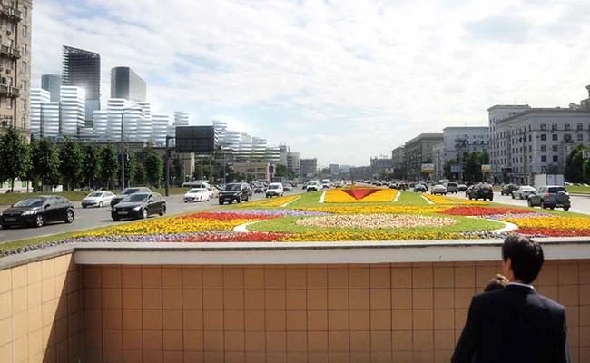 Визаулизация размещения нового ЖК на Кутузовском проспекте