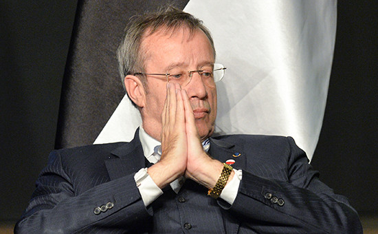 Президент ЭстонииТоомас Хендрик Ильвес