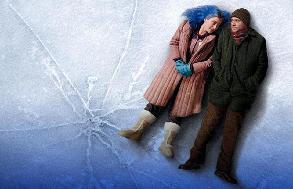 Кадр из фильма«Вечное сияние чистого разума» Мишеля Гондри. 2004.