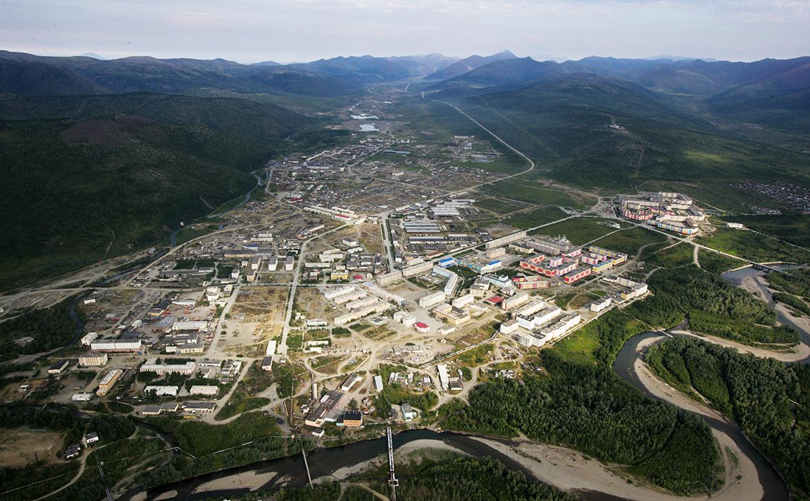 Вид на город Билибино