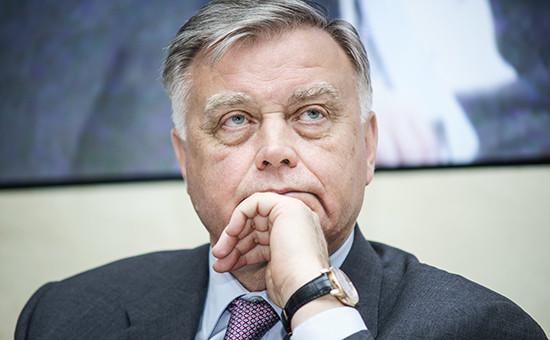 Экс-президент РЖД Владимир Якунин