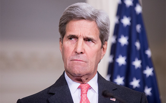 Глава Госдепа США Джон Керри