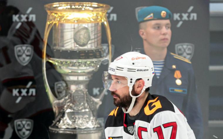 "Фото: Хоккеист ""Авангарда"" Илья Ковальчук (Фото: Global Look Press)"