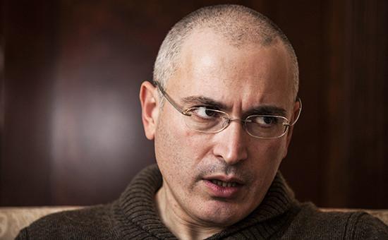 Бизнесмен Михаил Ходорковский