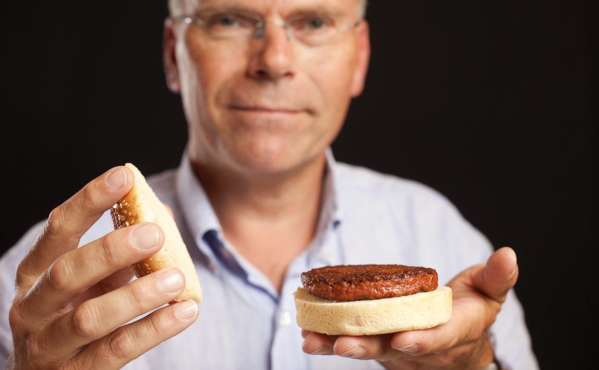 Гамбургер с мясом из стволовых клеток