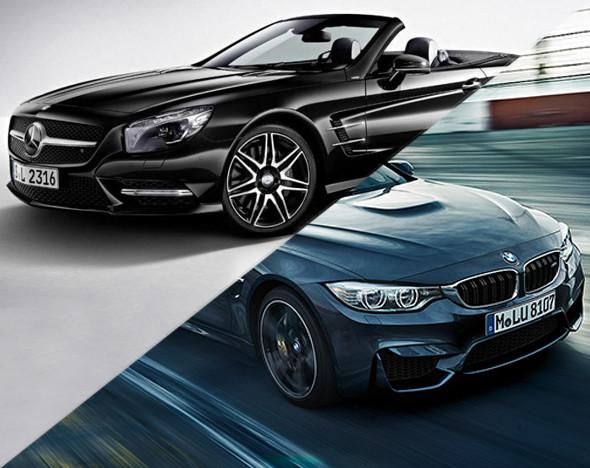 Фото: MERCEDES; BMW