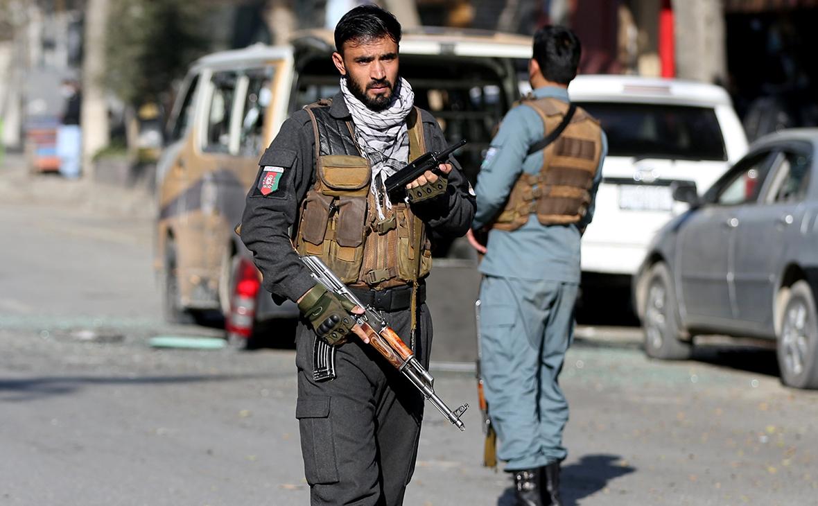 Полиция Кабула
