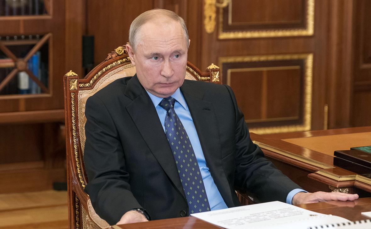 Путин назвал проект о «коренных народах» Украины напоминанием о нацистах ::  Политика :: РБК
