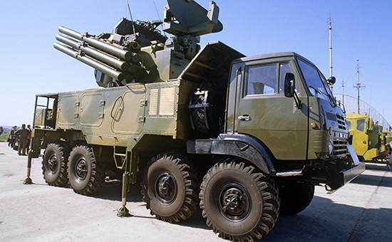 ЗРПК «Панцирь-С1». Архивное фото