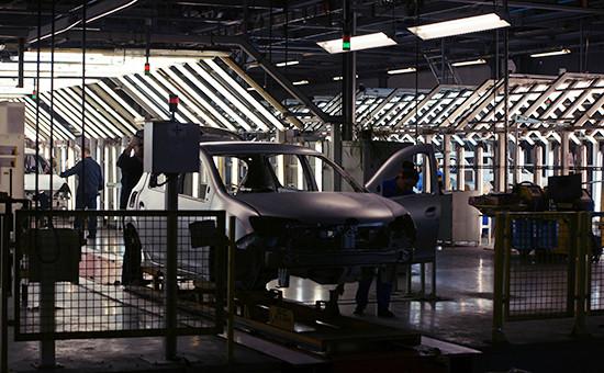 Контроль качества наконвейере завода АвтоВАЗ вгороде Тольятти