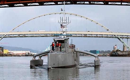 Экспериментальный беспилотный военный корабль«Морской охотник»