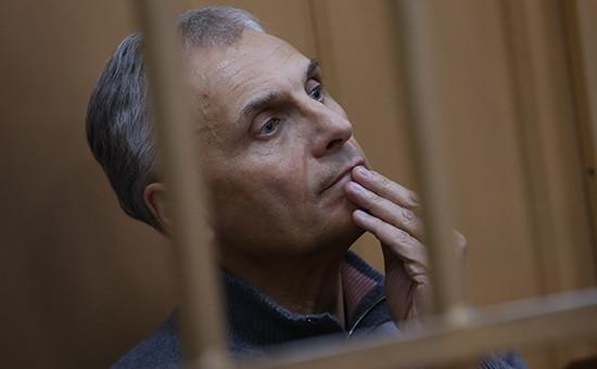 Бывший губернатор Сахалинской области Александр Хорошавин