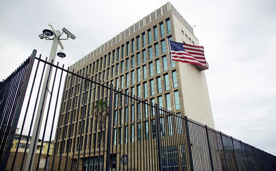 Американское посольство на Кубе