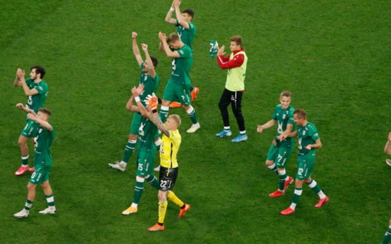 """Фото: Футболисты """"Рубина"""" (Фото: Global Look Press)"""