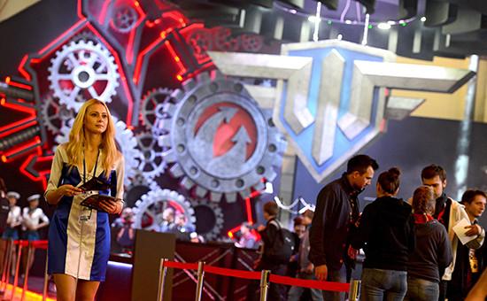 Стенд Wargaming на выставке «ИгроМир-2014» в Москве