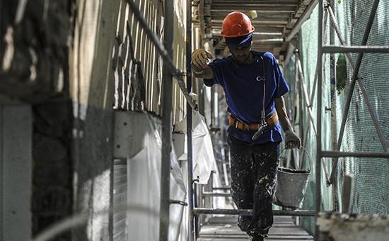 Во время капитального ремонта жилого дома