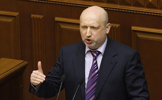 Секретарь Совета национальной безопасности и обороны (СНБО) Украины Александр Турчинов