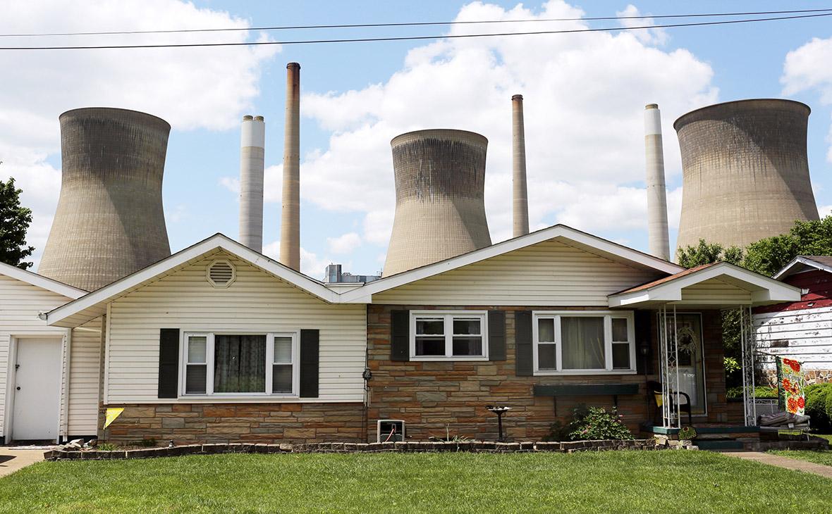Угольная электростанция в США