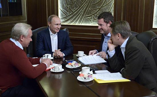 Интервью президента России Владимира Путина немецкому изданию Bild