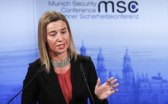 Федерика Могерини на Мюнхенской конференции по безопасности