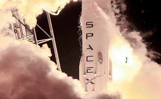 Ракета Falcon 9 производства компании SpaceX