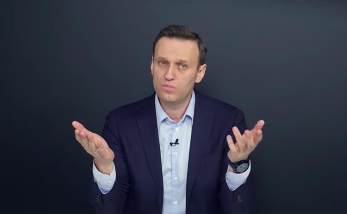 Алексей Навальный. Кадр из видео с расследованием о бизнесмене Олеге Дерипаске