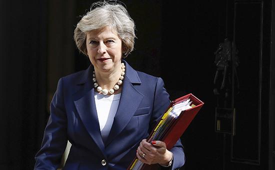 Премьер Великобритании Тереза Мэй